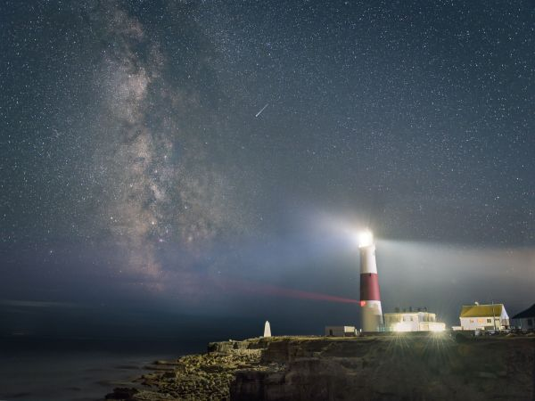 Portland Bill And The Perseid