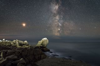 Pulpit Rock At Night