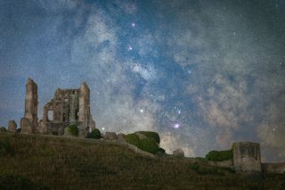 Corfe Castle Under The Stars