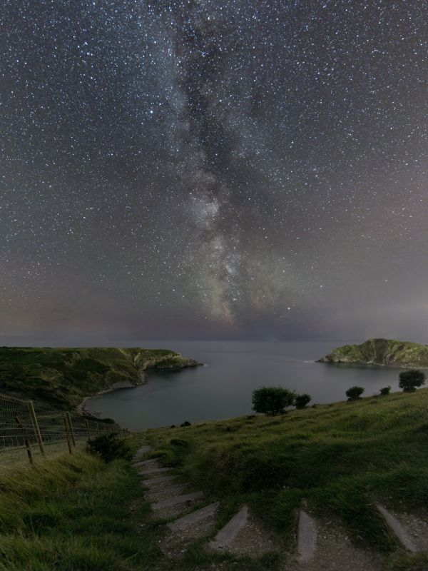 Lulworth Cove Under The Stars