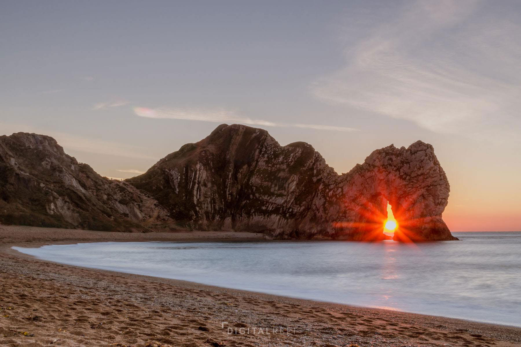 durdle door sunrise dorset